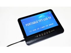 Портативный телевизор Noisy TV-901 USB+SD Черный (3sm_600866607)