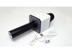 Микрофон-караоке Noisy KTV Q7 с динамиком Черный с белым (3sm_648363804)