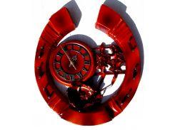 Часы Гранд Презент Подкова Кожа и бамбук (ЧК08)