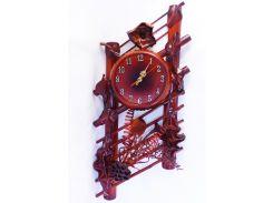 Часы Гранд Презент Ажур Кожа и бамбук (ЧК25)