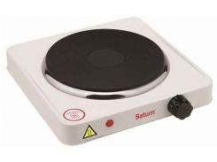 Електроплита (1 конфорка; 1500 Вт) ST-EC0180 ТМ SATURN Білий (397416)
