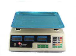 Торговые электронные весы Domotec MS-228 6V до 50 кг (44012)