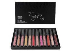 Набор жидких матовых помад 12 в 1 Kylie 8653 тени Кайли комплект (45036)