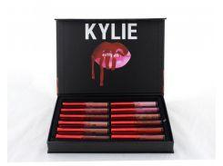 Набор жидких матовых помад 12 в 1 Kylie Short Lip Блеск Для Губ 12 шт (45219)