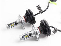 Автомобильные LED лампы X3 H7 6000K/6000lm 25 Вт (ml-24)