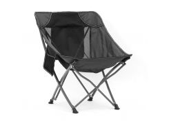 Складное кресло Spokey Fenix Черный с серым (s0519)
