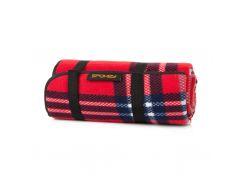 Коврик для пикника Spokey Highland 140 х 150 см Красный (s0527)