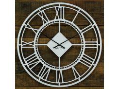 Настенные часы Glozis London 50 х 50 White (B-027)