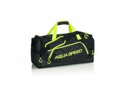 Спортивная сумка Aqua Speed Duffel Bag L 43 л Black-Green (aqs215)