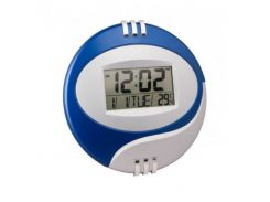 Электронные настенные часы Kenko КК 6870 Синие (45946)