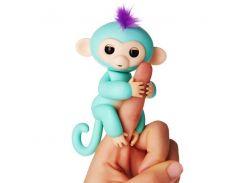 Интерактивная обезьянка Finger lings Бирюзовая (hub_NqYD81026)