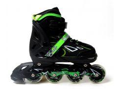 Роликовые коньки King Power 34-37 Green (875070801-M)