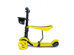 Самокат детский Scooter Smart 3 in 1 Yellow (1624249795)