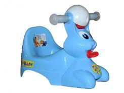 Дитячий горщик Консенсус Bags Bunny Блакитний (115389)