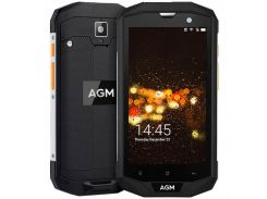 AGM A8 3/32Gb Black (STD02802)