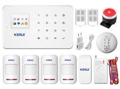 Комплект сигнализации GSM KERUI G-18 spec komplect для 3-комнатной квартиры (GGDTV37VJJY)