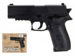 Пистолет с пульками металлический корпус CYMA (ZM23)