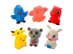 Набор игрушек Metr+ для ванной  F221-A Животные Разноцветный
