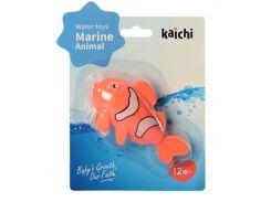 Водоплавающая игрушка KAICHI K999-209 Рыбка заводная Оранжевая