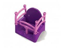 Качели Doloni Toys 0152 40 × 32 × 40 см Фиолетово-розовые