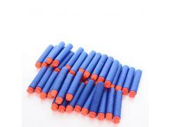 Пульки Zecong Toys ZC08 мягкие присоски 40 шт Синий