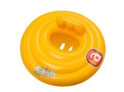 Надувной плотик-круг Bestway 32096 Желтый