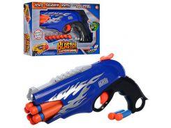Пистолет на мягких пулях FX3038-A 8 шт Синий