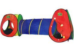 Палатка Metr+ 5015 с тоннелем Разноцветный
