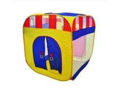 Детская палатка 5033/М 0505 домик Разноцветный