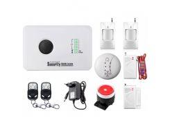 Комплект сигнализации Kerui alarm G10c Prof для 1-комнатной квартиры (EHDV1976RHF)