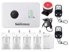Комплект сигнализации GSM Alarm System G10C modern plus для 4-комнатной квартиры (YFGBVF27FHGV)