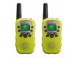Рация Baofeng MiNi BF-T2 PMR446 2 шт Yellow (hub_np2_1496_1)