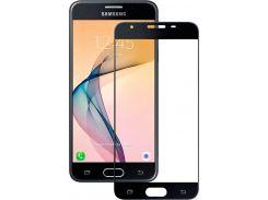 Защитное стекло 5D для Samsung Galaxy J5 Prime J570 Black (723329148)