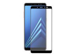 Защитное стекло 2.5D Full Glue Full Screen Samsung Galaxy A6 2018 A600 Black (7233332173)
