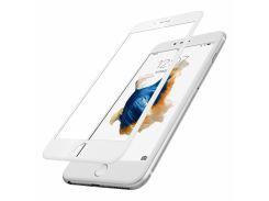 Защитное стекло Baseus Silk Printing 3D Anti Soft для iPhone 6 Plus/6S Plus White (PG-000163)