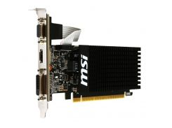 Видеокарта MSI GeForce GT 710 Low Profile 1GB GT 710 1GD3H LP (F00157833)