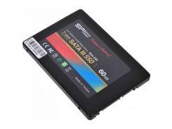 Накопитель SSD Silicon Power Slim S55 60GB 2.5 SATAIII TLC SP060GBSS3S55S25 (F00087948)