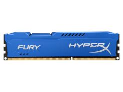 Оперативная память Kingston HyperX Fury DDR3 4GB 1x4GB Blue (HX313C9F/4)