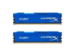 Оперативная память Kingston HyperX Fury 8GB (2x4GB) DDR3 SDRAM 1866MHz Blue (HX318C10FK2/8)