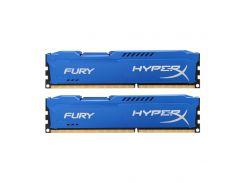 Оперативная память Kingston HyperX Fury 8GB (2x4GB) DDR3 1333MHz Blue (HX313C9FK2/8)