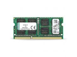 Оперативная память Kingston 8GB 1600MHz DDR3 CL11 SODIMM (KVR16S11/8)