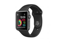 Смарт-часы Apple Watch Series 1 38mm Space Grey Aluminium Case with Black Sport Band (MP022) (F00122313)