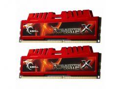 Оперативная память G.Skill DDR3-1600 8192MB PC3-12800 Kit of 2x4096 RipjawsX F3-12800CL9D-8GBXL (F00148482)