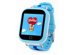 Смарт-часы детские Smart Watch Q100S/GW200S с GPS Синие (12898)