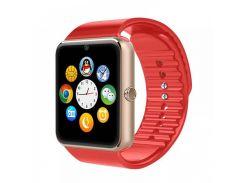 Смарт-часы Smart Watch Phone GT08 Red (15852)
