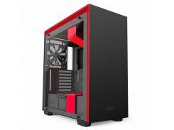 Корпус NZXT H700i Matte Black/Red CA-H700W-BR (F00159375)