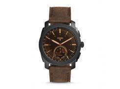 Смарт-годинник Fossil Hybrid Smartwatch Machine Dark FTW1163 Brown (hub_jJsy27280)