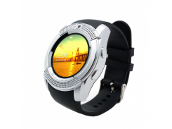 Смарт-часы Smart Watch Phone V8 Silver (Smart Watch)