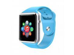 Умные смарт-часы Original (Smart Watch A1 Blue)
