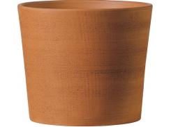 Горшок для растения Deroma Цилиндр 14 х 16 см Коричневый (000002931)